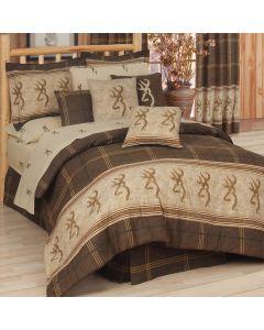 Kimlor Queen Comforter Set - Browning Buckmark