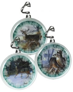 River's Edge Hollow Glass Ornaments