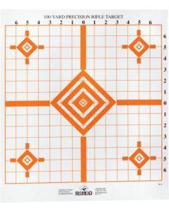 Redhead 100 Yard Precision Rifle Target