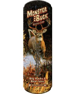 River's Edge Large Monster Buck Thermometer