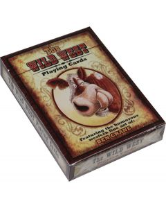 River's Edge The Wild West Playing Cards