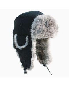 Yukon Tracks Fur Hat-BLACK