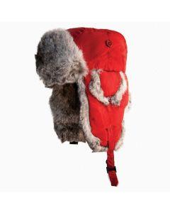 Yukon Tracks Hat Alaskan Red / Gray (Medium)