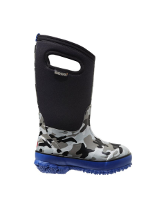 71397-001 BOGS Boy's Classic Camo Boots Black