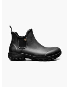 72208-001 BOGS Men's Sauvie Slip On Boots Black