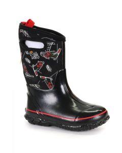 72280-640 BOGS Boy's Classic Hockey Boots Cherry (Black/Red)