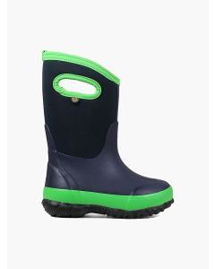 72328-411 BOGS Boy's Classic Matte Boots Navy/Green