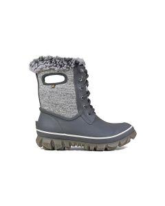 Bogs Women's Arcata Knit Boot-Gray Multi