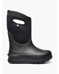 72439-001 BOGS Boy's Neo-Classic Solid Black