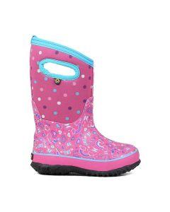 Bogs Kid's Classic Rainboot-Pink Multi