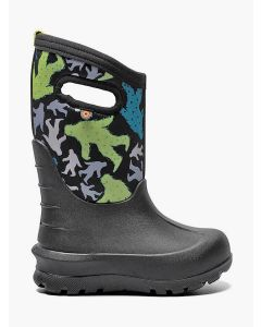 72580-009 BOGS Boy's Neo-Classic Bigfoot Boots Black Multi