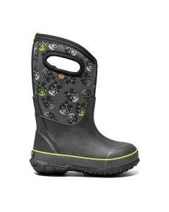 72595-009 BOGS Boy's Classic Skulls Boots Black Multi