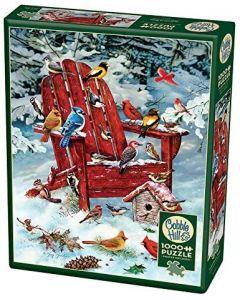 Cobble Hill Puzzle Co-1000-Adirondack Birds