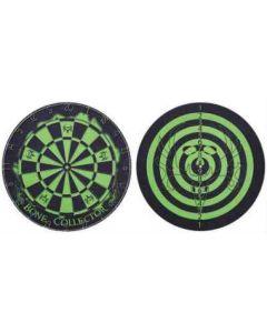 Bone Collector Dartboard Green & Black 18in