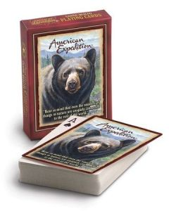 American Expedition Playing Cards-Bear