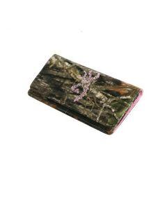Browning Women's Camo Continental Bling Wallet - BGT1131