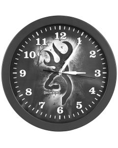 Browning Wall Clock-Gray Morning Mist