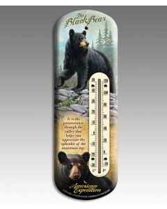 American Expedition Back-Porch Thermometer-Black Bear