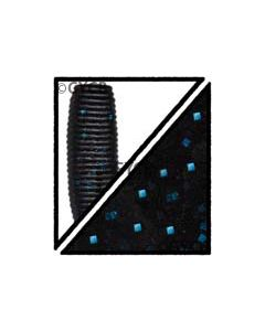 Black Blue Flake