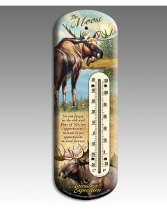 American Expedition Back-Porch Thermometer-Moose