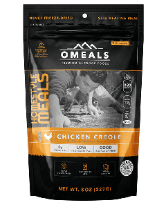 OMEALS Self Heating Meal 227g-Chicken Creole w/Brown Rice