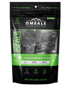 OMEALS Self Heating Meal 227g-Vegetarian Chili