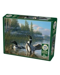 Cobble Hill Puzzle Co-1000-Common Loons