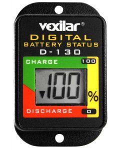 Vexilar D-130 Digital Battery Status Indicator