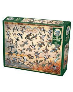 Cobble Hill Puzzle Co-1000-Ducks of North America