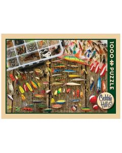 Cobble Hill Puzzle Co-1000-Fishing Lures