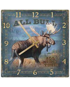 Wild Wings Nature Clock 10x10-All Bull Moose
