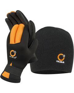 Celsius Ice Gear Neoprene Gloves & Hat Combo