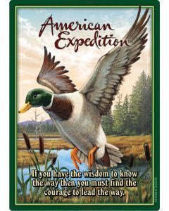 American Expedition Playing Cards-Mallard Duck