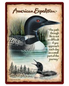 American Expedition Playing Cards-Loon