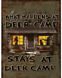 Heavy Metal Deer Camp Sign
