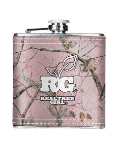 Realtree Girl Pink Camo Flask