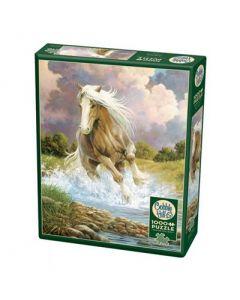 Cobble Hill Puzzle Co-1000-River Horse