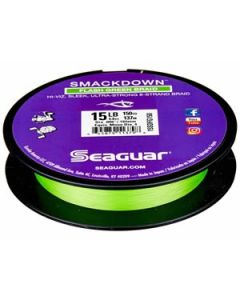 Seaguar Smackdown Braided Line Flash Green