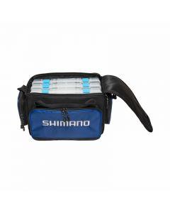 Shimano Baltica Tackle Bag w/ Utility Boxes(4)-Bl