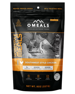 OMEALS Self Heating Meal 227g-Southwest Chicken