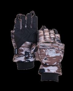 "Fish Monkey Tundra Insulated Mitten Glove ""Ice Fishing Ready"""