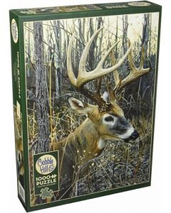 Cobble Hill Puzzle Co-1000-White-Tailed Deer